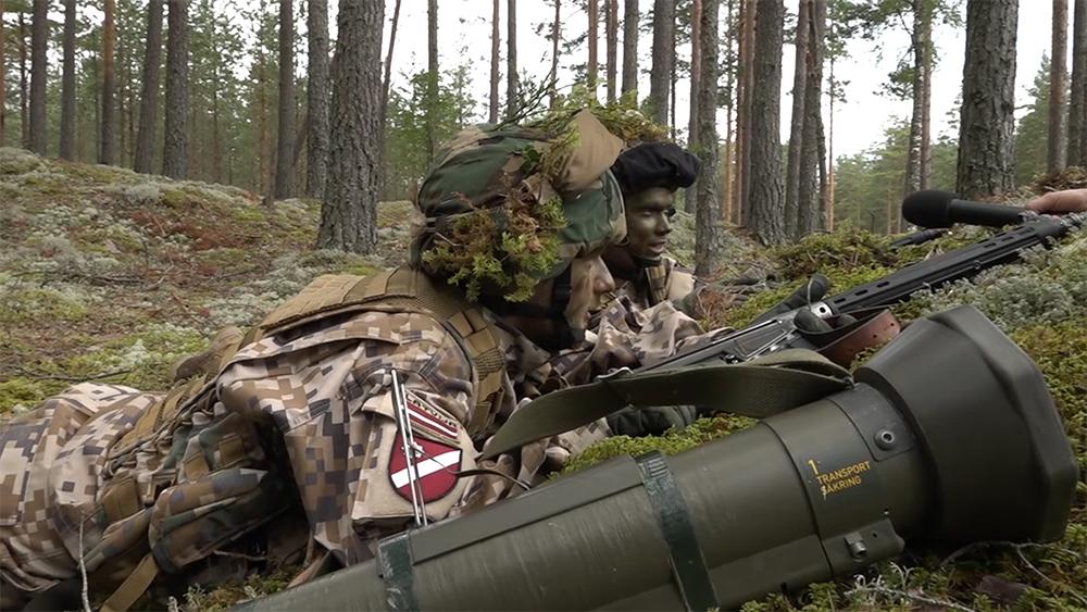 """Zemessargi gatavojas militārajām mācībām """"Zobens 2020"""""""