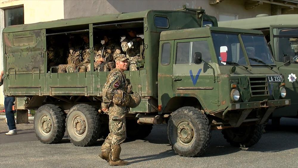 """Ar cīņu pret igauņiem noslēdzas militārās mācības """"Zobens 2020"""""""