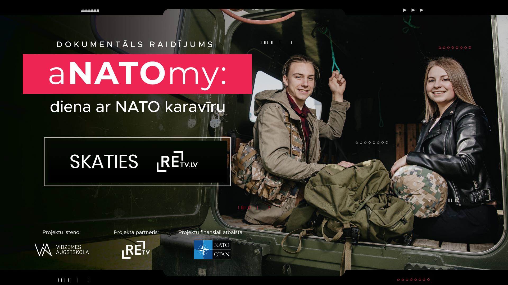 """Noskaties dokumentālu raidījumu """"aNATOmy: diena ar NATO karavīru"""""""