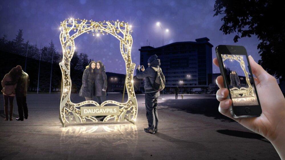 Iedzīvotāji rosina pārskatīt Ziemassvētku rotājumu iepirkšanu Daugavpilī