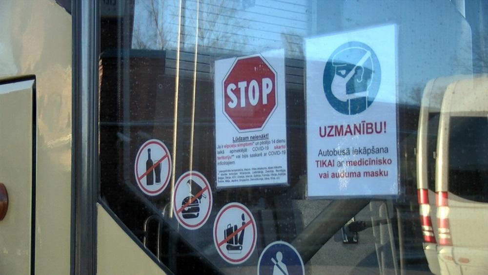Papildus ierobežojumi braucieniem sabiedriskajā transportā