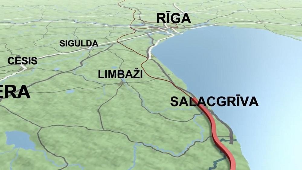 """Noris zemes izpēte """"Rail Baltica""""  dzelzceļa trasē"""