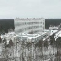 Daugavpilī top moduļu ēkas Covid-19 pacientiem