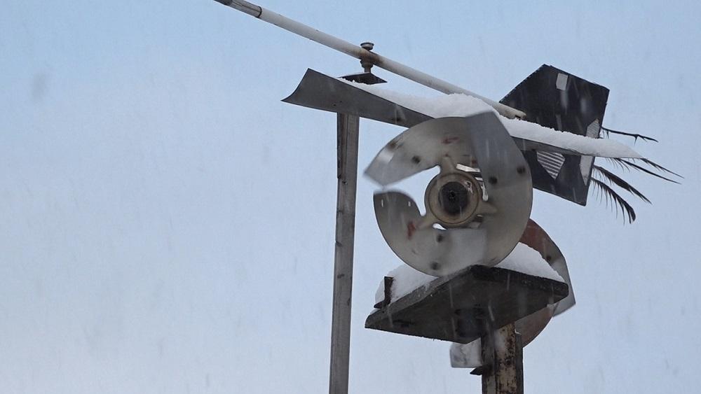 Privātmājas pagalmā Valmierā izveidota meteostacija