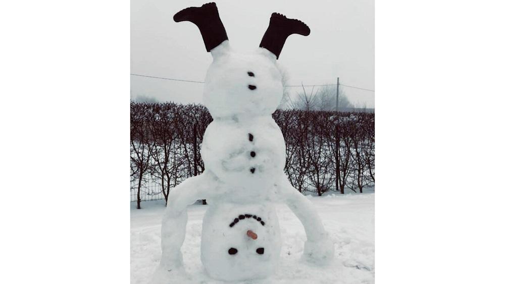 Limbažu novads pārvērties par sniega skulptūru galvaspilsētu