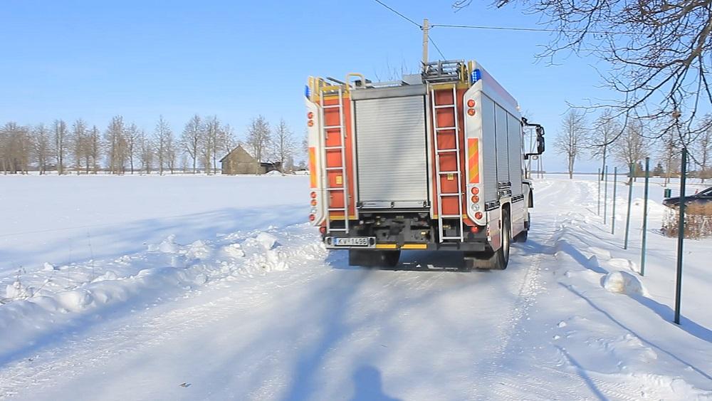 Jelgavas novadā šorīt ugunsgrēkā bojā gājuši trīs cilvēki