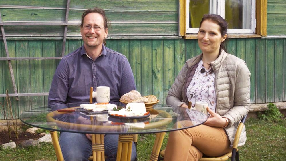 Mājā un sētā: No Vācijas uz dzīvi Latvijas laukos