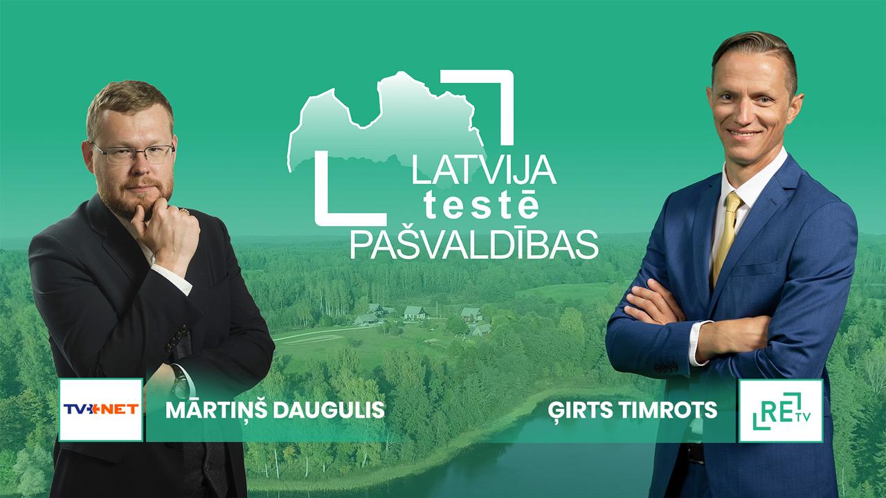 """ReTV un TVNET rīko vienīgās klātienes pašvaldību debates – """"Latvija testē pašvaldības"""""""