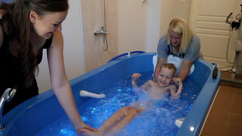 Talsu novadā sāk hidroterapijas nodarbības