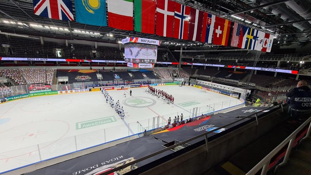 Pasaules hokeja čempionāta aizkulises