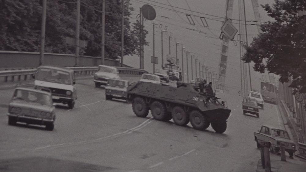 Latvijas neatkarības atjaunošana. Augusta pučs