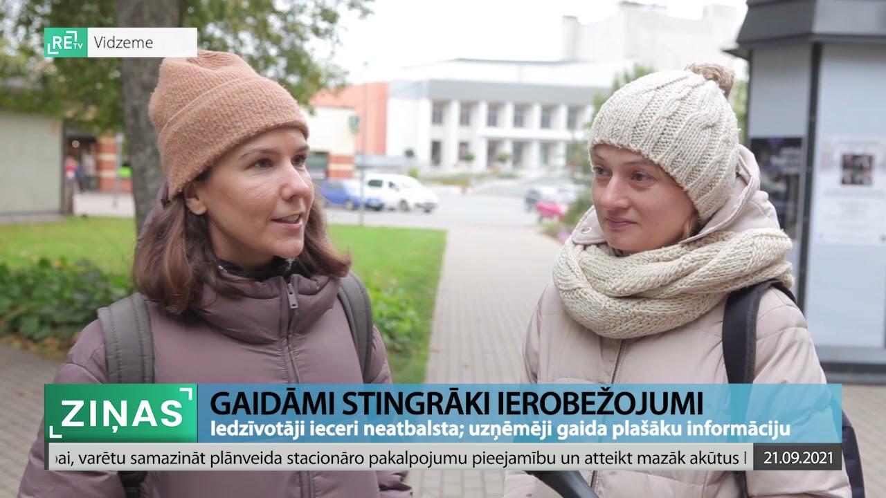 ReTV Ziņas 19.00 (21.09.2021.)