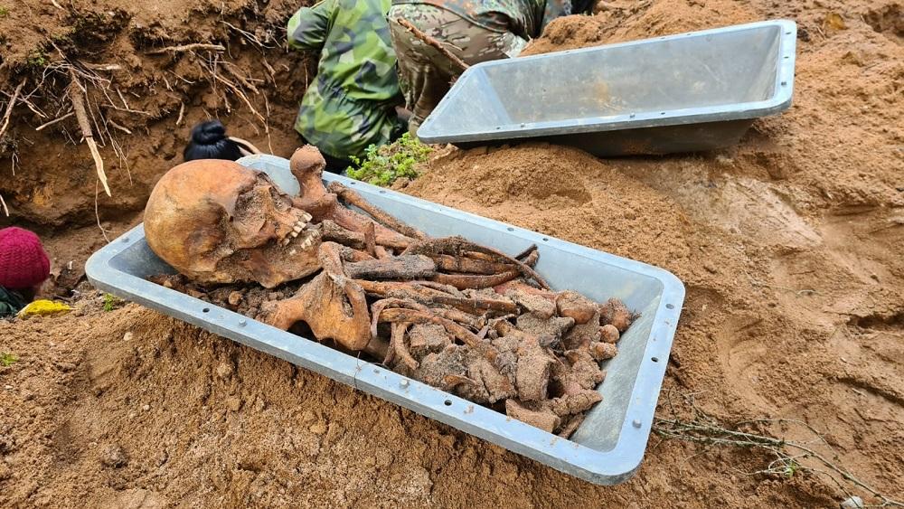 Ekspedīcijā meklē nepienācīgi apglabātus kritušos karavīrus