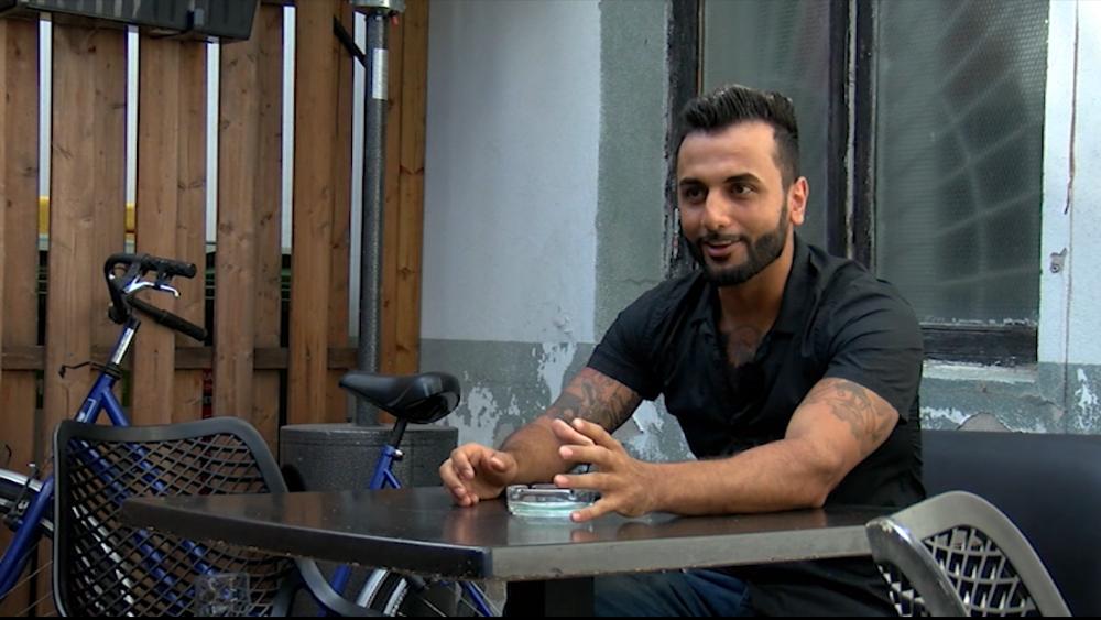 Irākietis, bēgot no kara Irākā, nonāca Latvijā